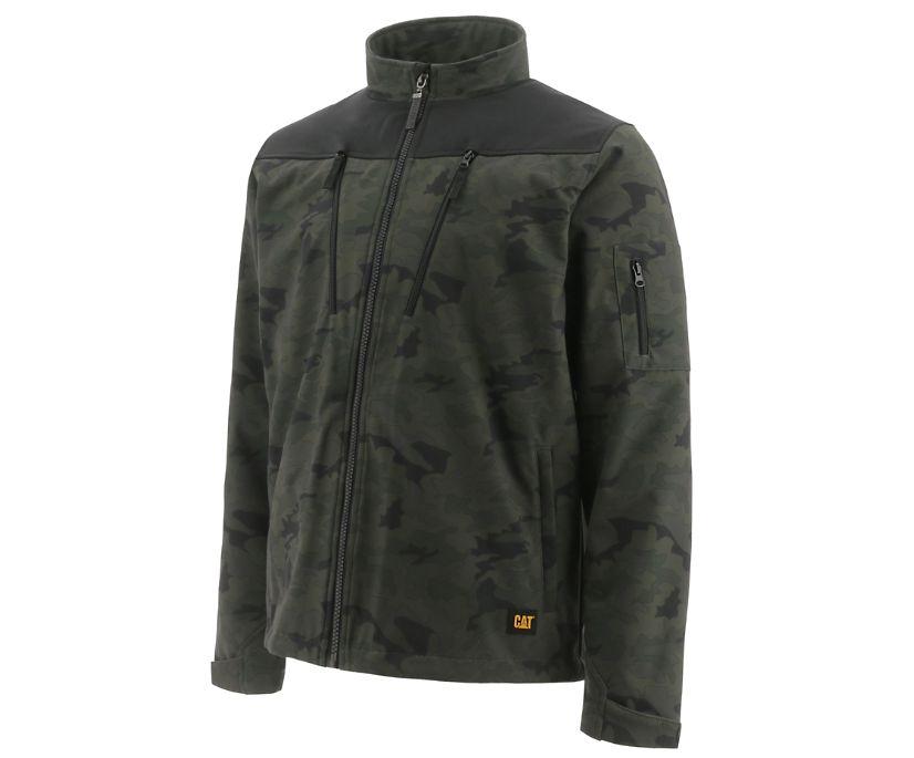 Tracer Soft Shell Jacket, Night Camo, dynamic