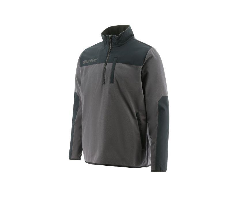 Performance 1/4 Zip Pullover, Black, dynamic
