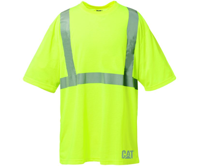 Hi-Vis Tee, Hi-Vis Yellow, dynamic