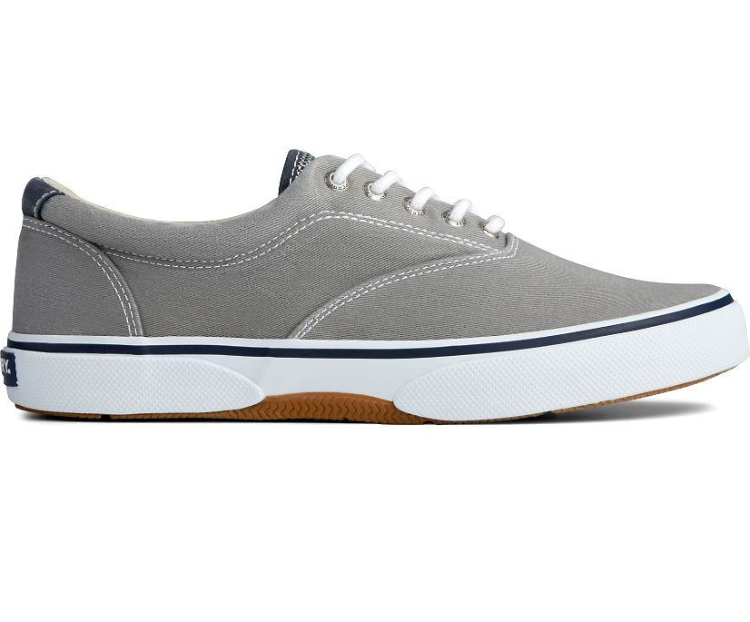 Halyard CVO Salt Washed Laceless Sneaker, Gray, dynamic