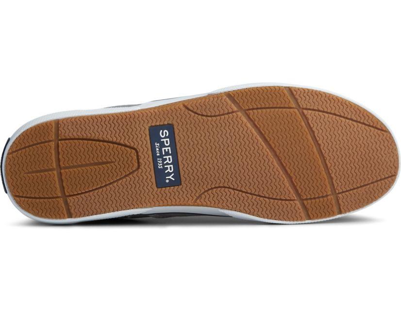 Halyard CVO Salt Washed Laceless Sneaker, Gray, dynamic