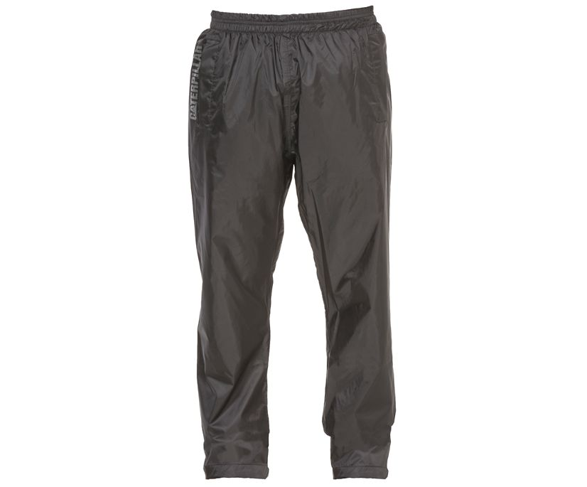 Typhoon Packable Rain Pant, Mens Black, dynamic
