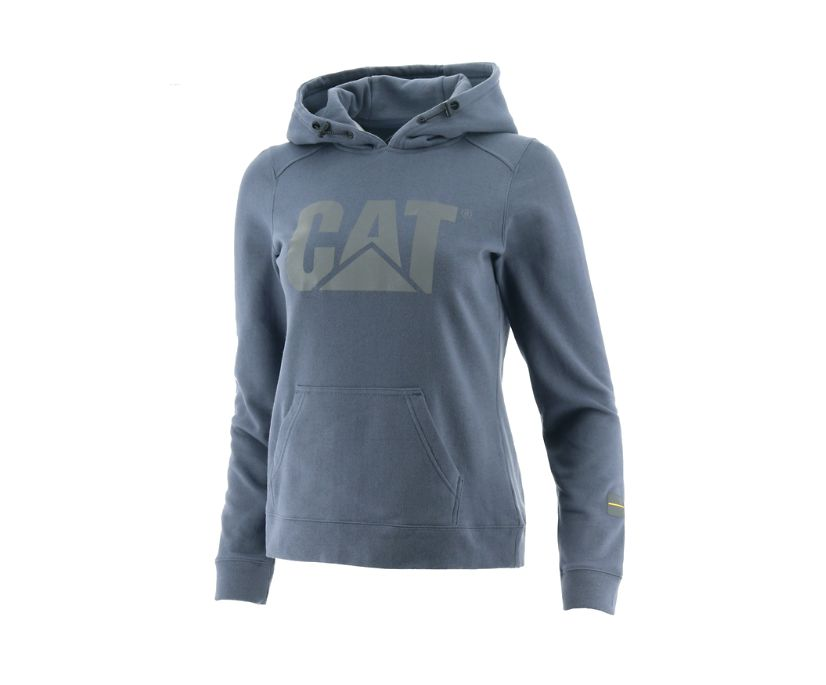 H2O Pullover Hoodie, Blue, dynamic