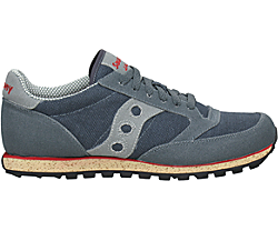 Jazz Low Pro Vegan, Gray / Red, dynamic