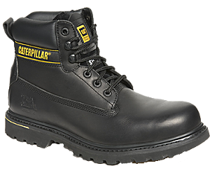 Holton Steel Toe SB FO HRO SRC Work Boot, Black, dynamic