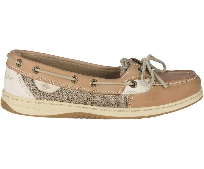 Angelfish Slip-On Boat Shoe, Linen Oat, dynamic