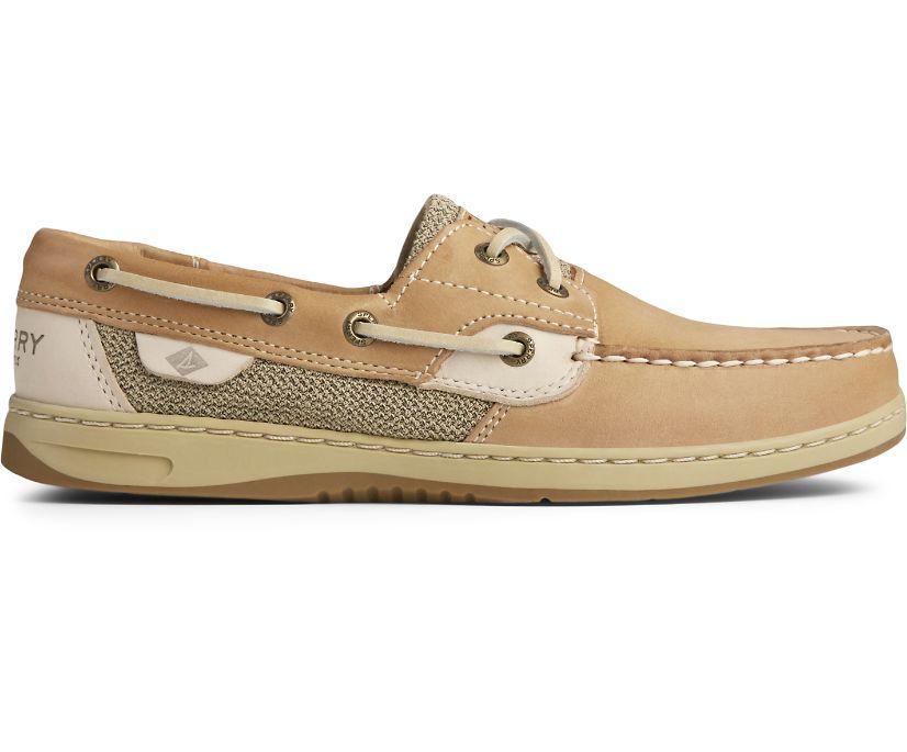 Bluefish 2-Eye Boat Shoe, Linen Oat, dynamic