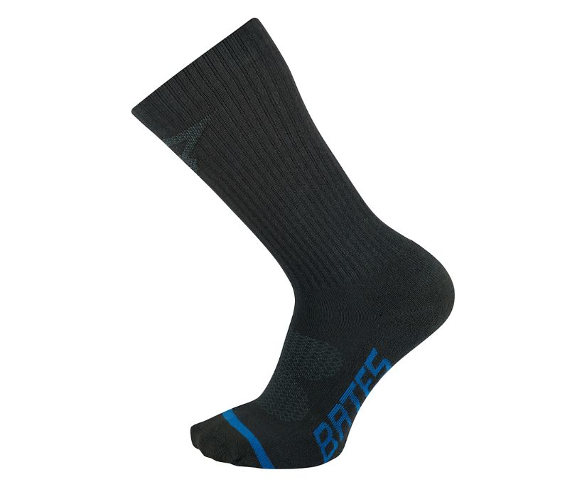 3 PK USA Crafted Tactical Sport Sock - Midcalf, Black, dynamic