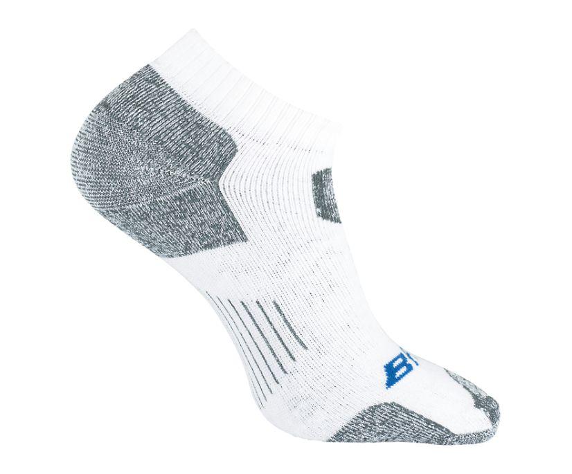 1-Pk Tactical Uniform Sock Low-Cut, White, dynamic