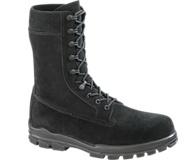 """9"""" US Navy Suede DuraShocks® Steel Toe Boot, Black, dynamic"""