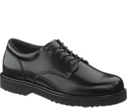 High Shine Duty Oxford, Black, dynamic