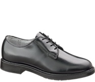 Leather DuraShocks® Oxford, Black, dynamic