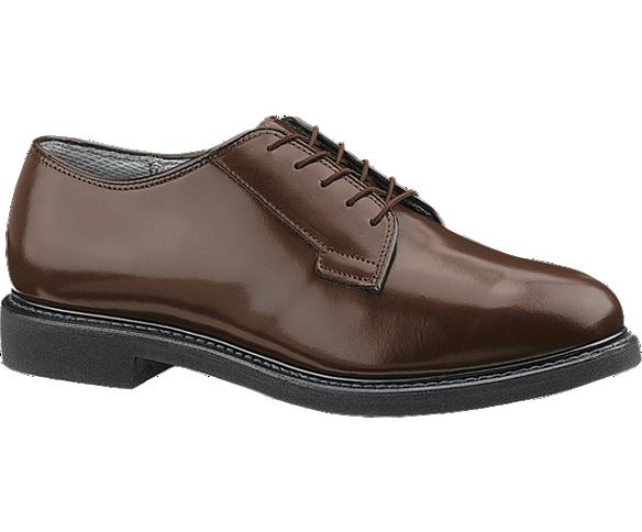 Bates Lites® Brown Leather Oxford, Brown, dynamic