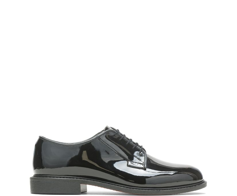 High Gloss Leather Sole Oxford, Black, dynamic