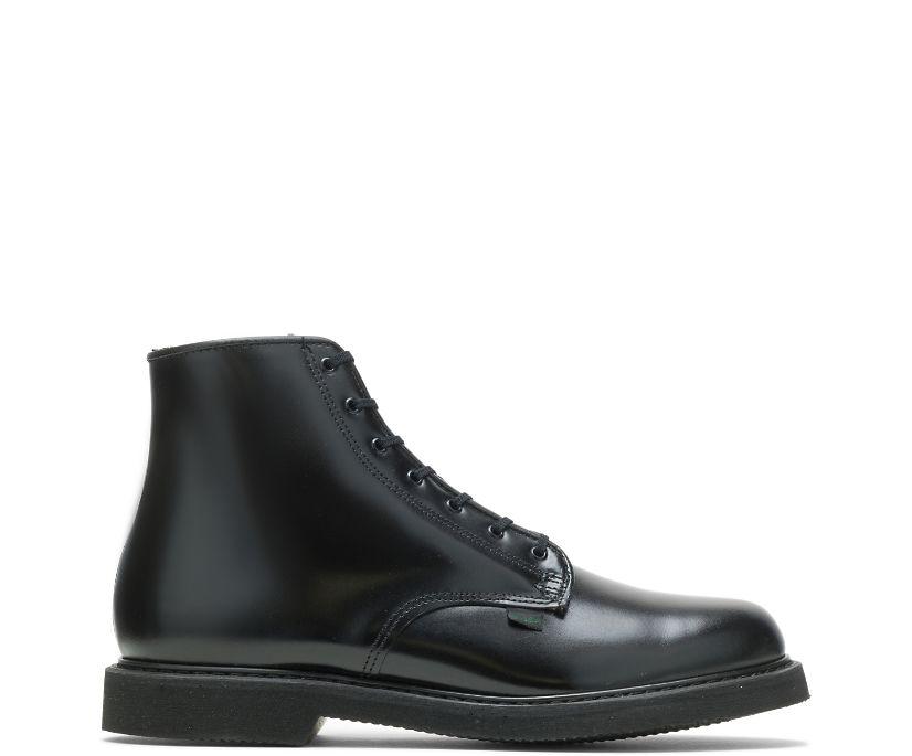 "Bates Lites® 6"" Leather Lace Up Chukka, Black, dynamic"