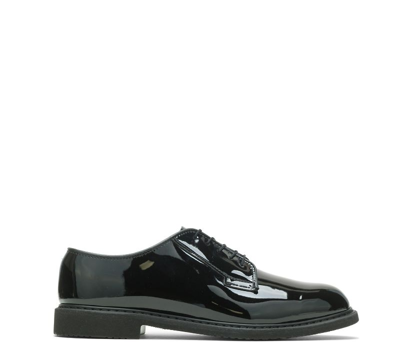 Bates Lites® Black High Gloss Oxford, Black, dynamic
