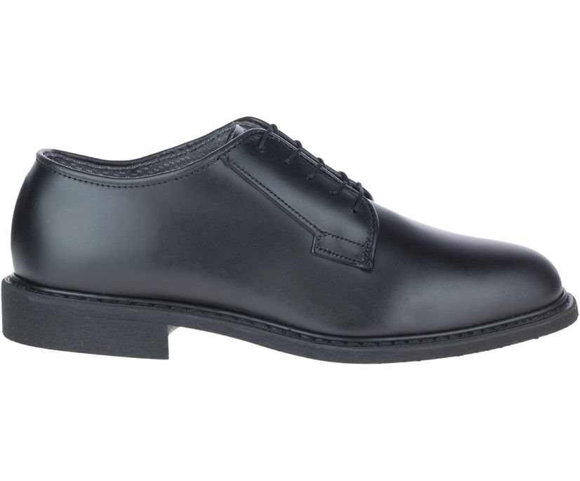 Leather Uniform Oxford, Black, dynamic