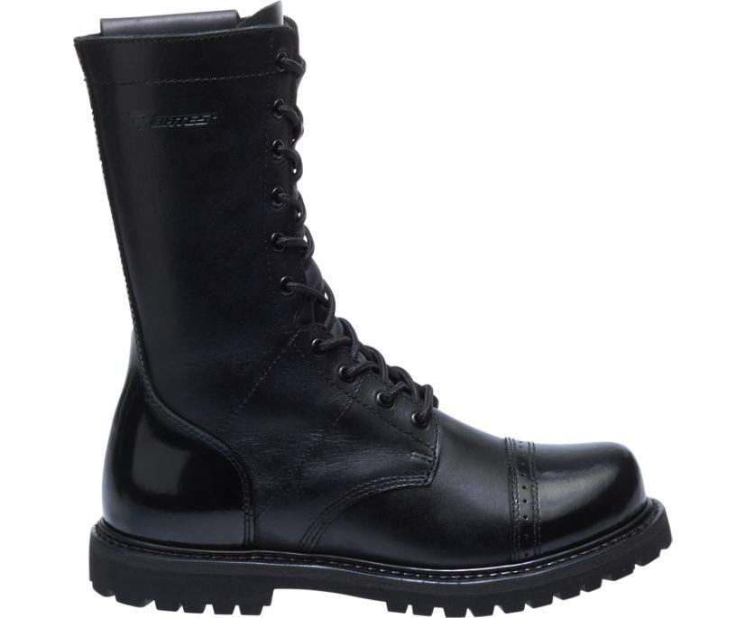 "11"" Paratrooper Side Zip Boot, Black, dynamic"
