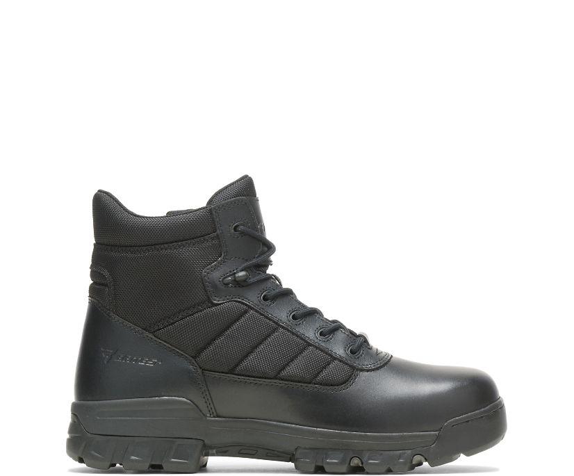"5"" Tactical Sport Side Zip, Black, dynamic"