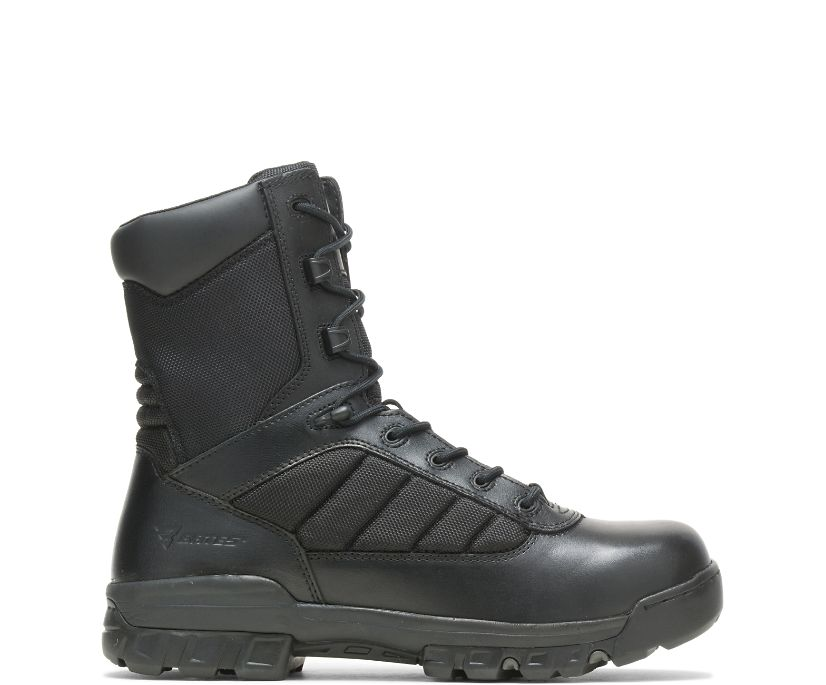 "8"" Tactical Sport Side Zip Boot, Black, dynamic"