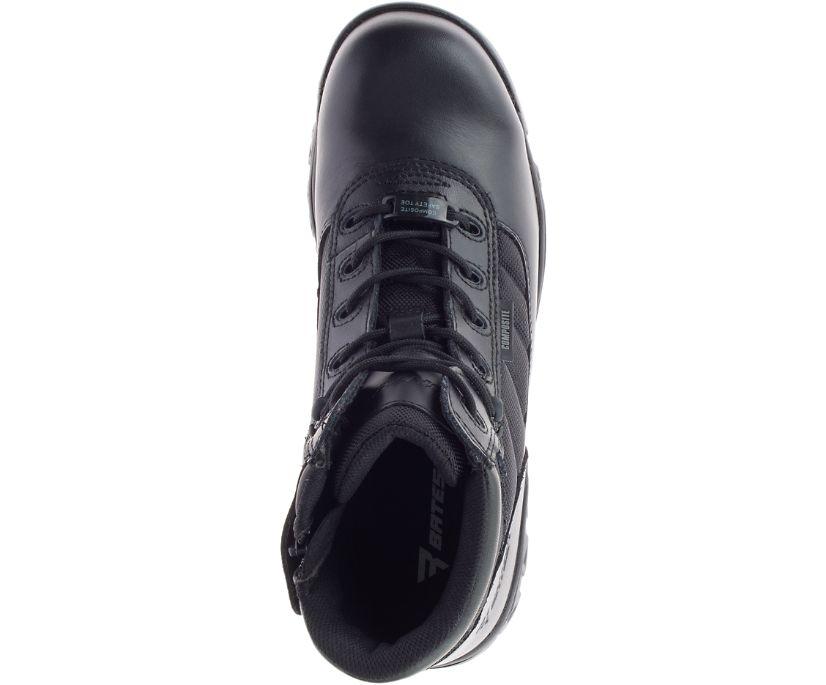 "5"" Tactical Sport Composite Toe Side Zip Boot, Black, dynamic"