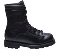 "8"" DuraShocks® Waterproof Lace-to-toe Boot, Black, dynamic"