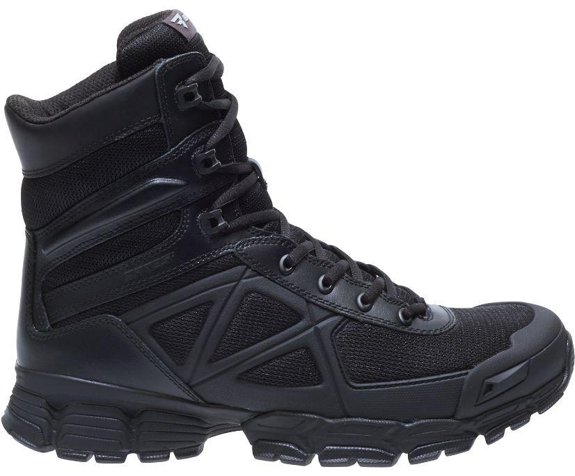 "8"" Velocitor Black Boot, Black, dynamic"