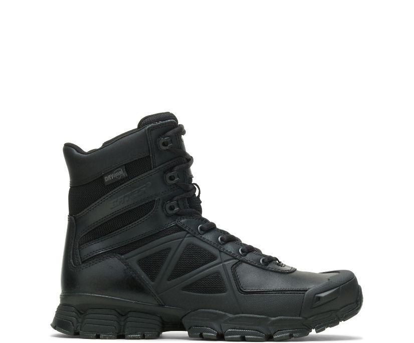 "8"" Velocitor Zip Waterproof Boot, Black, dynamic"