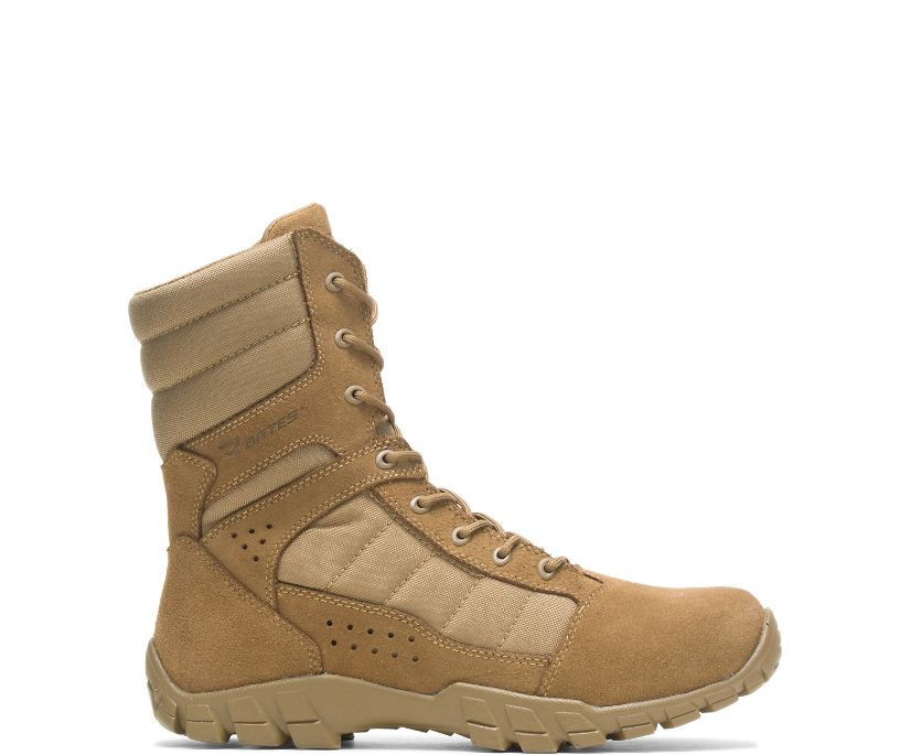 """Cobra 8"""" Hot Weather Boot, Coyote Brown, dynamic"""