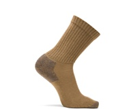 3-Pk Cotton Crew Sock, Coyote Brown, dynamic
