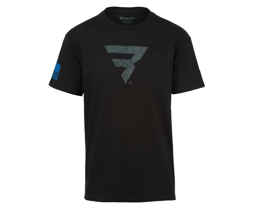 Power B Logo Tee, Black, dynamic