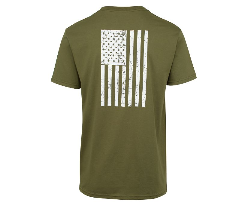 Veterans Tee, Military Green, dynamic