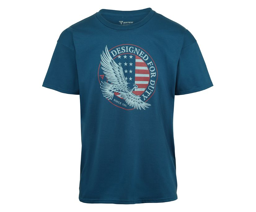 Soaring Eagle Tee, Patrol Blue, dynamic