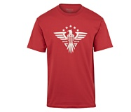 Honor Bound Eagle Tee, Scarlet, dynamic