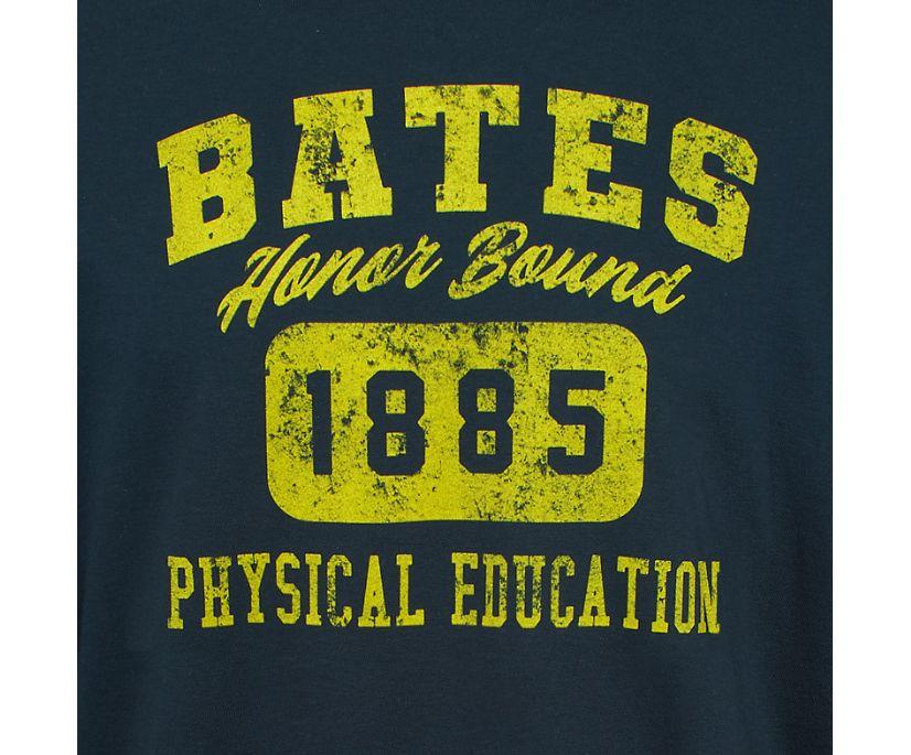 Bates PE Long Sleeve Tee, Navy, dynamic