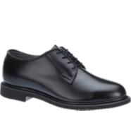 Bates Lites® Black Leather Oxford, Black, dynamic
