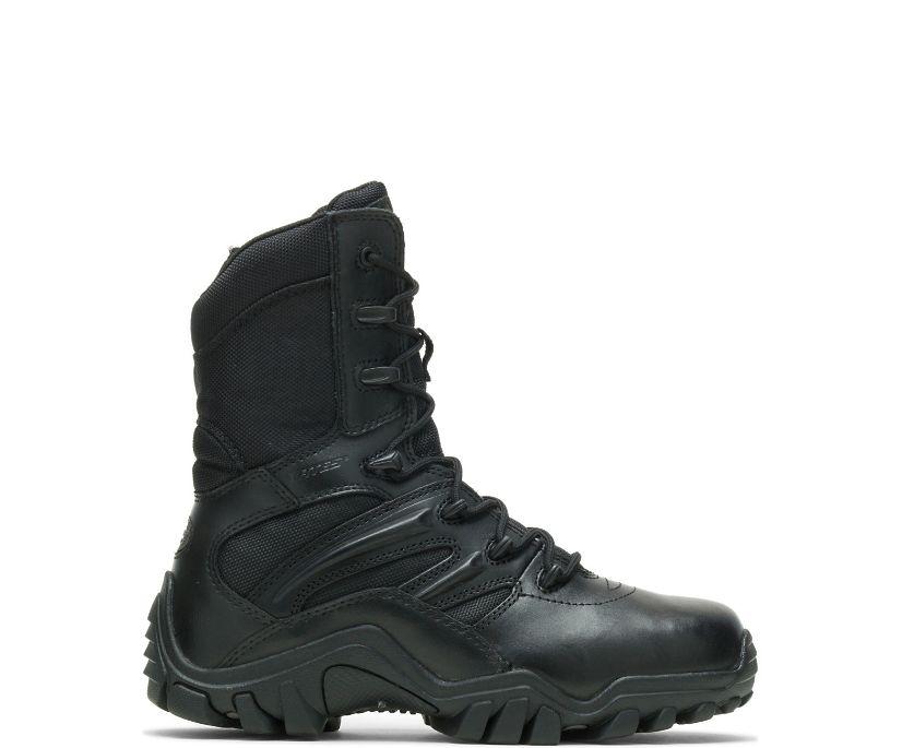 Delta-8 Side Zip Boot, Black, dynamic