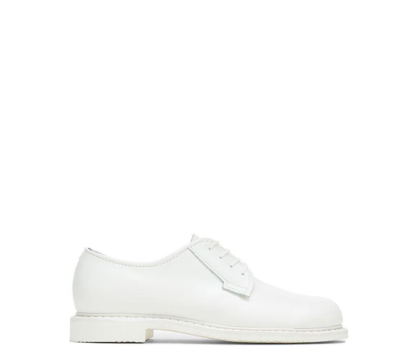Bates Lites® White Leather Oxford, White, dynamic