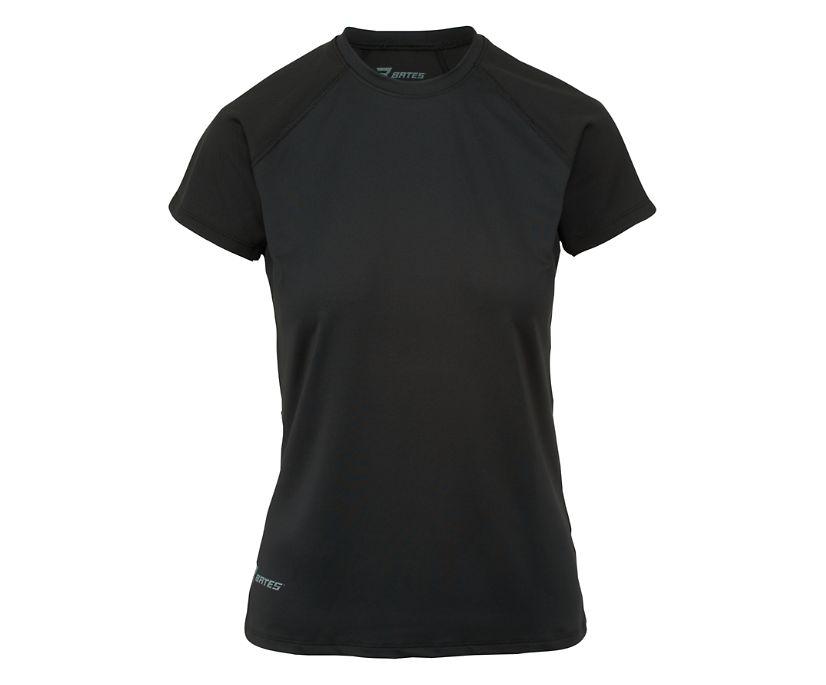 Short Sleeve Baselayer, Black, dynamic