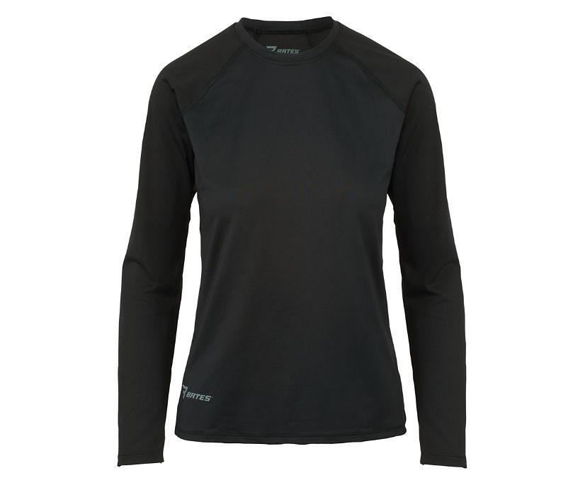 Long Sleeve Baselayer, Black, dynamic