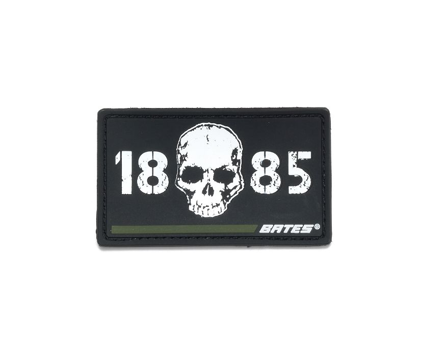 Skull 1885 Green Line Patch, Green, dynamic