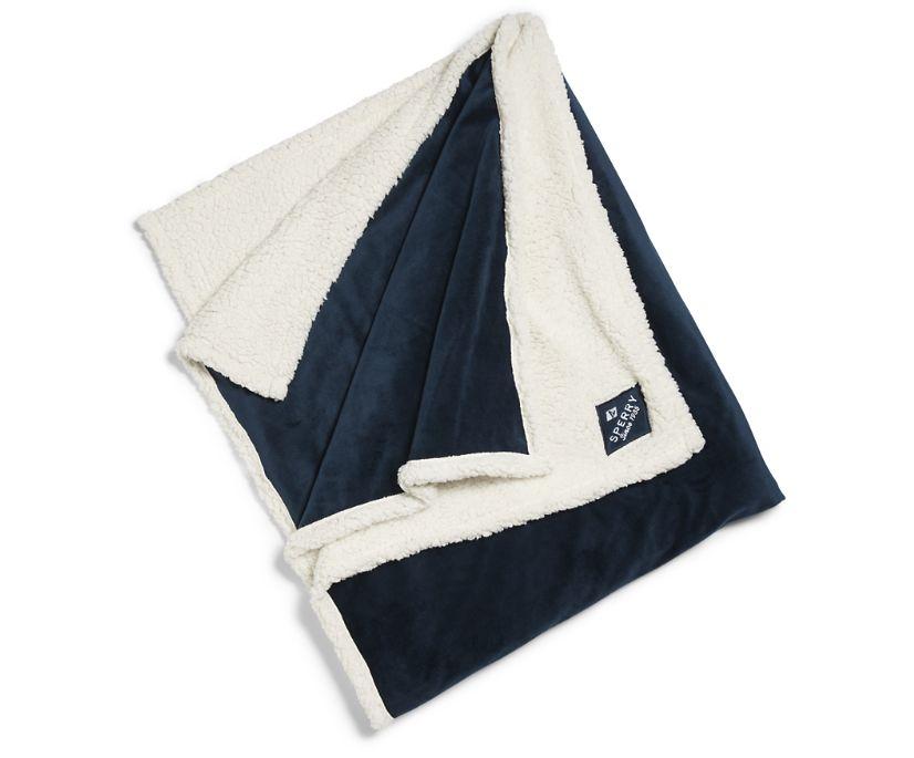 Cozy Blanket, Navy, dynamic