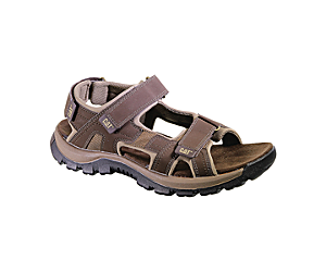 Giles Sandal, Dark Brown, dynamic