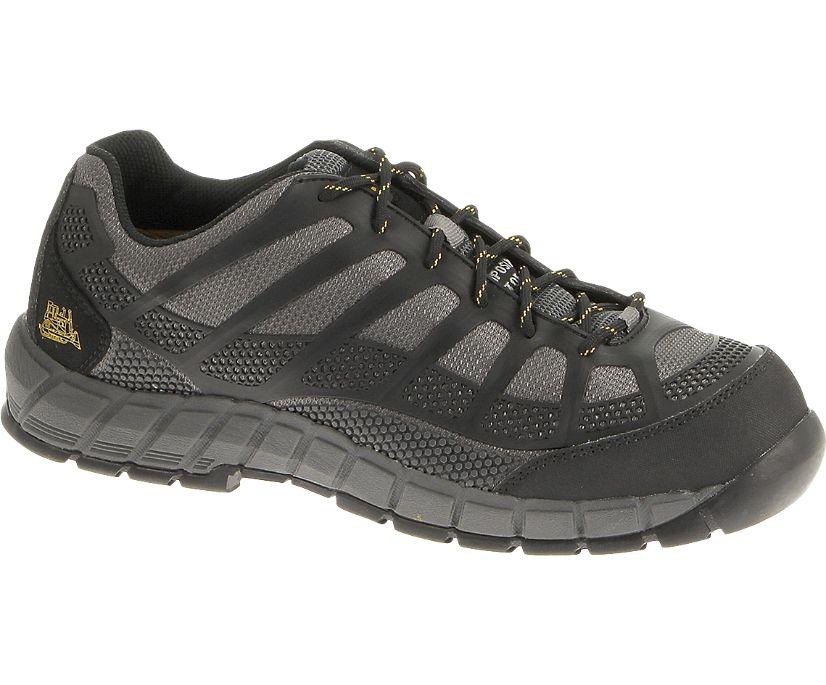 Streamline CT S1P Work Shoe, Charcoal/Black, dynamic