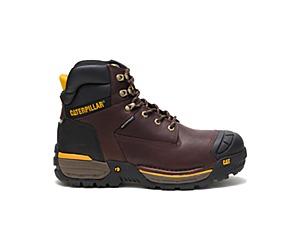 "Excavator LT 6"" Waterproof Work Boot, Espresso, dynamic"