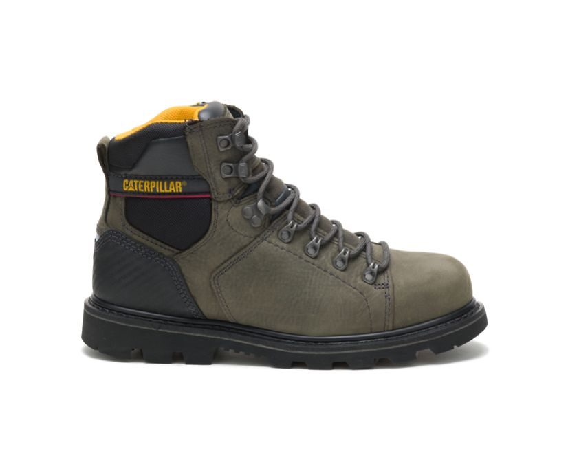Alaska 2.0 Steel Toe Work Boot, Charcoal Grey, dynamic