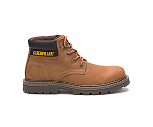 Outbase Waterproof Work Boot, Brown, dynamic
