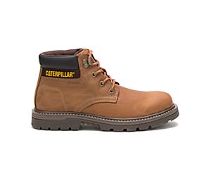 Outbase Waterproof Work Boot, Brown, dynamic