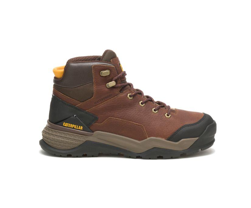 Provoke Mid Waterproof Work Boot, Oak, dynamic