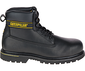 Holton Steel Toe S3 HRO SRC Work Boot, Black, dynamic